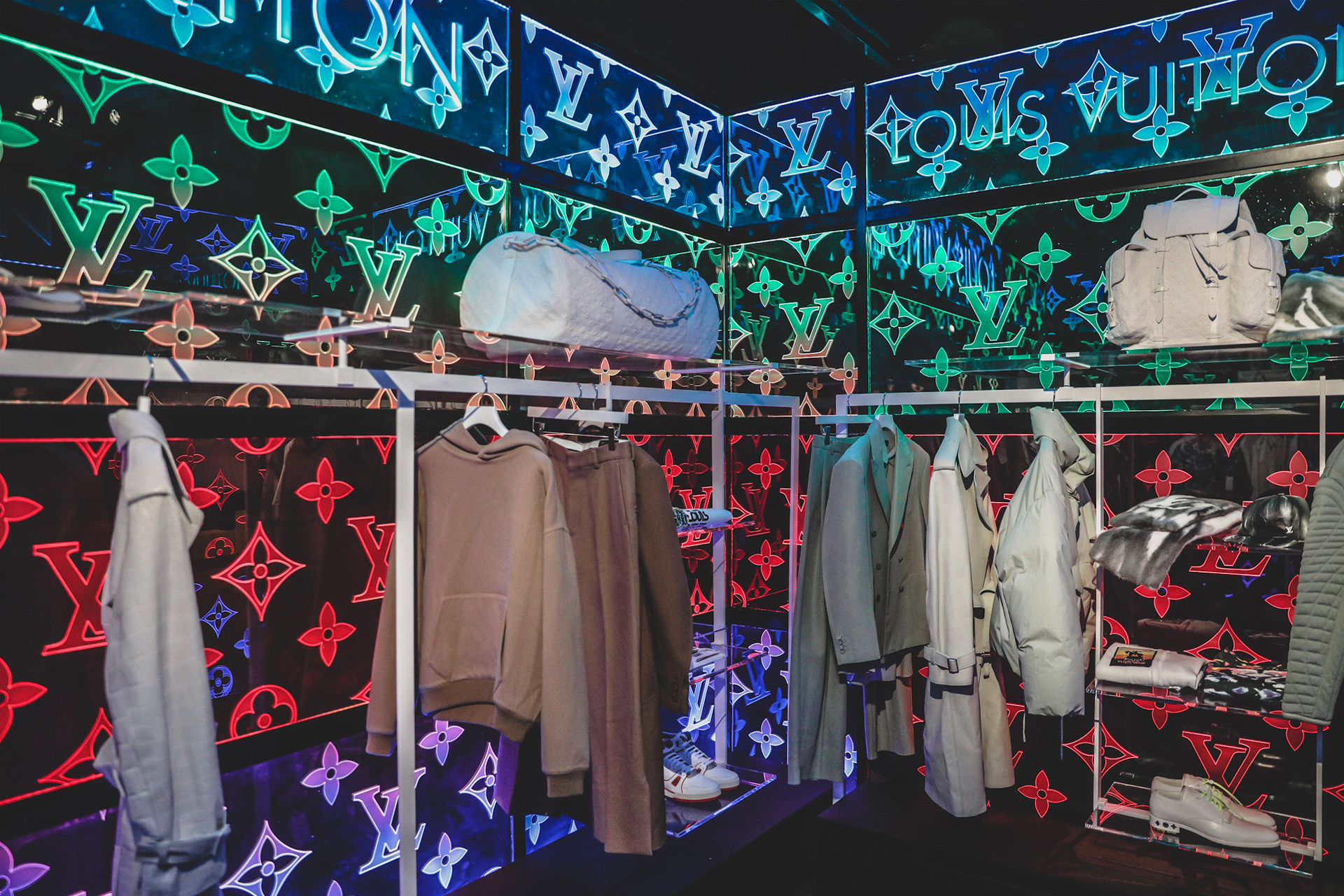 d4c1f8910f4d Virgil Abloh debuts collection at wizard of Oz London pop-up