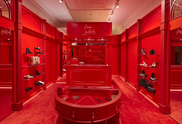Christian Louboutin pop-up at The Royal Exchange