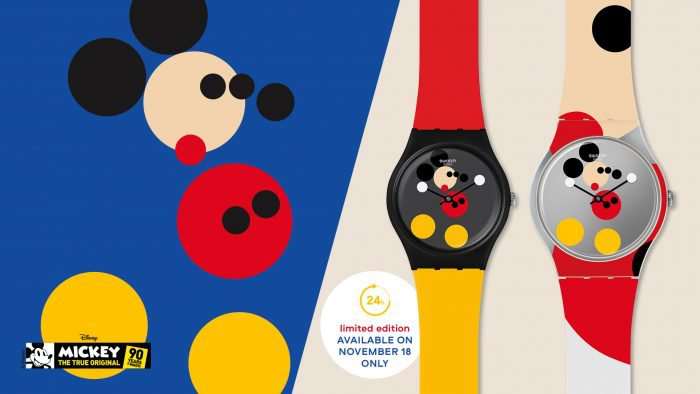 "Swatch X Damien Hirst ""Limited edition MM"""