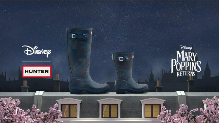 """Hunter Boots x Disney """"Mary Poppins"""""""
