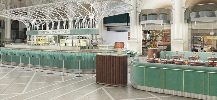 """The Royal Exchange"" bar and restaurant in Fortnum & Mason"