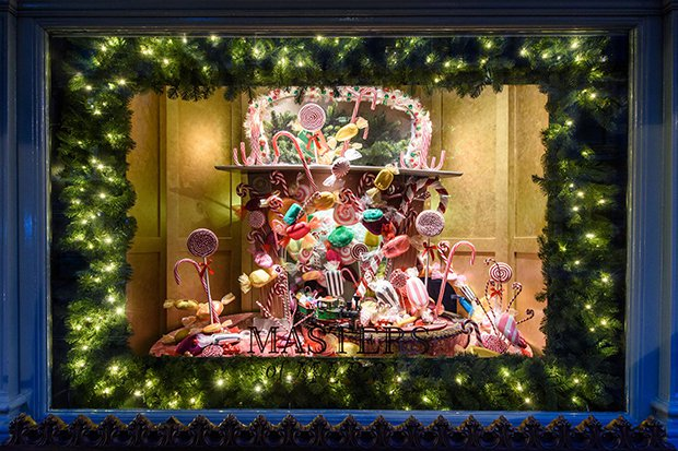 The tableau showcases familiar festive rituals with a luxury Harrods twist: unwrapping gifts with Bottega Veneta, a giant Christmas dinner featuring food ...