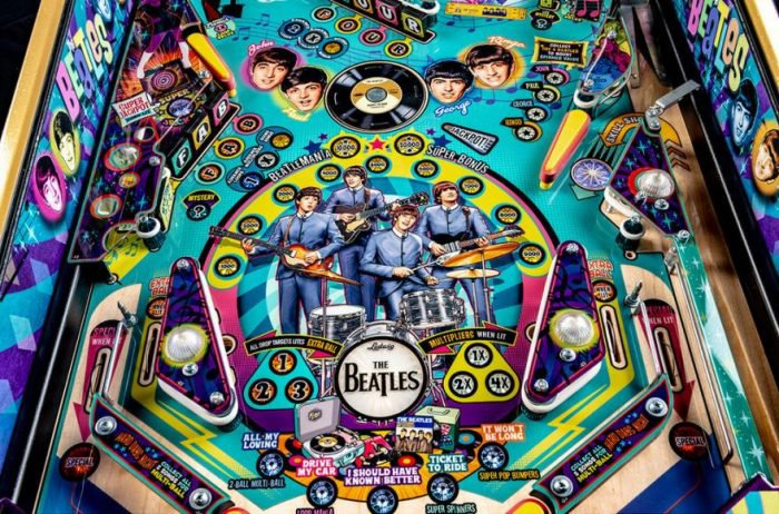 The Beatles pinball machine