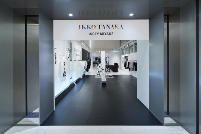 IKKO TANAKA ISSEY MIYAKE pop-up shop