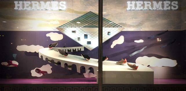 """Surreal"" by Kiki Van Eijk for Hermès"