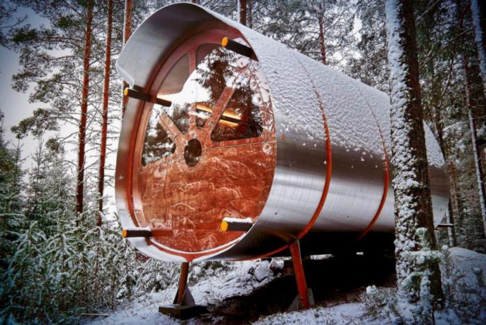 Fuselage extreme wilderness cabin