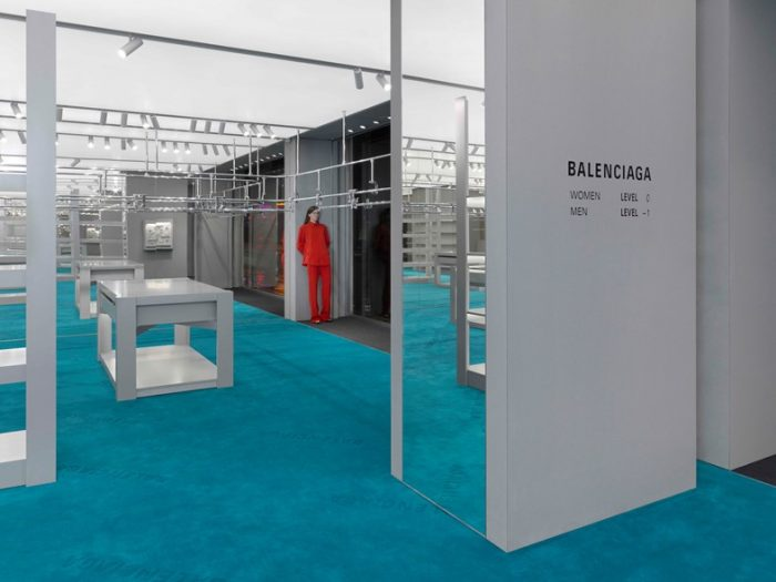 Balenciaga  new London store