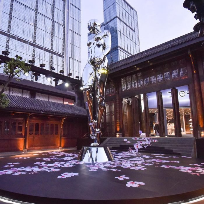 Dior pop-up store in Chengdu, China
