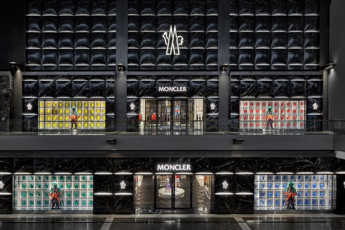 Moncler flagship store in Singapore