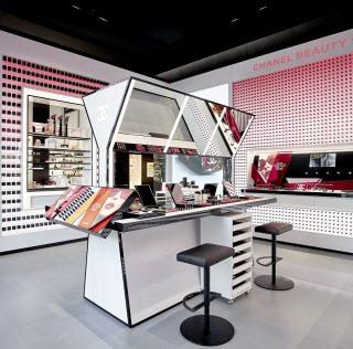 Chanel beauty store on Champs-Élysées, Paris