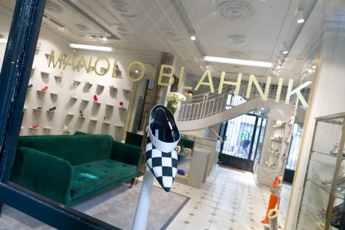 Manolo Blahnik store in Paris