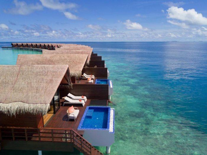 The Grand Park Kodhipparu resort in the Maldives