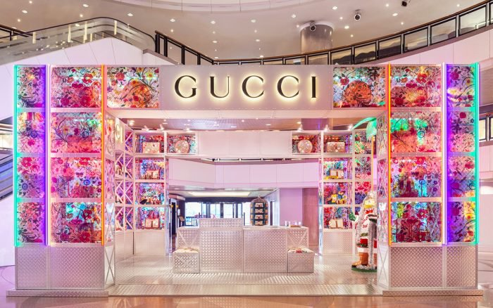 """GUCCI PIN"" Pop Up Store"