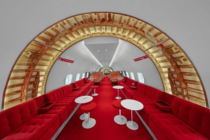 """Connie"" in TWA Hotel, N.Y."