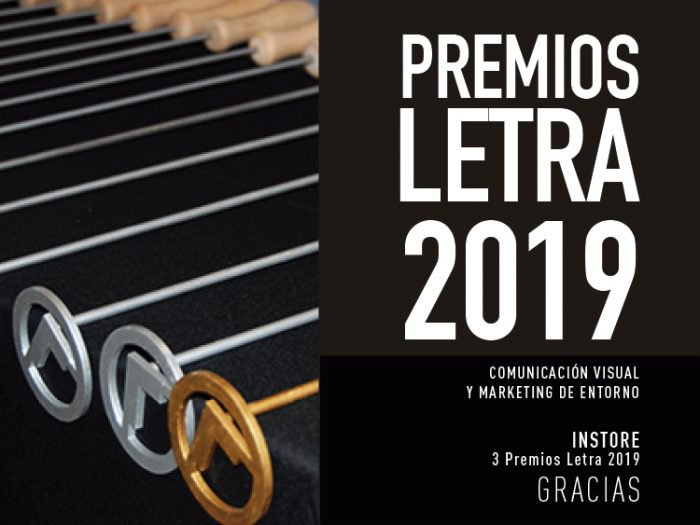INSTORE wins 3 Letra Awards in the 2019 edition