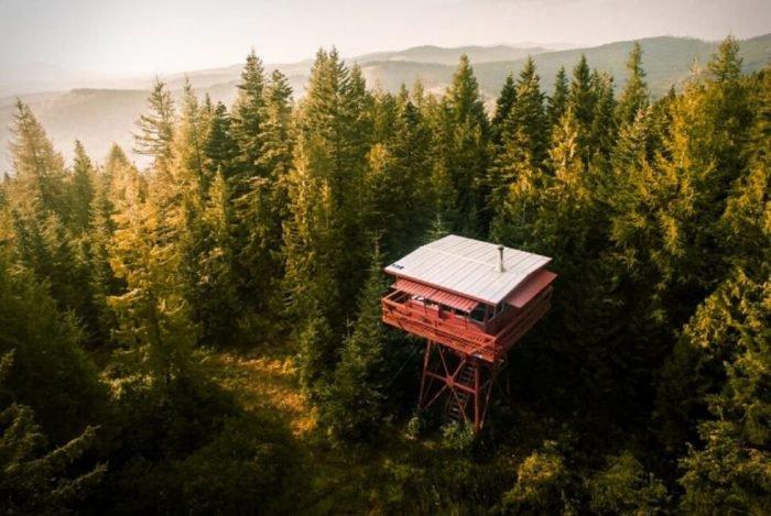 The Crystal Peak Lookout
