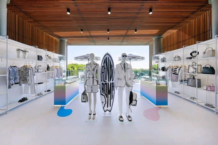 #FENDICaliforniaSky 's most spectacular pop-up store