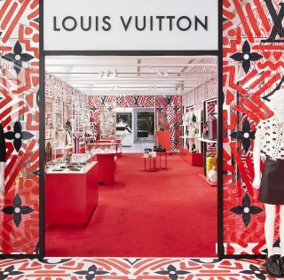 Louis Vuitton Pop-up Store in Harrods