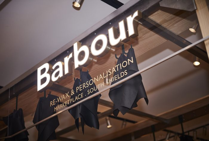 Barbour x Selfridges