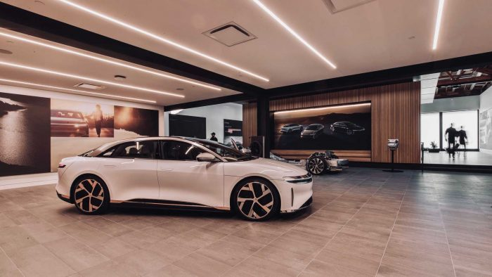 Lucid Motors, Beverly Hills