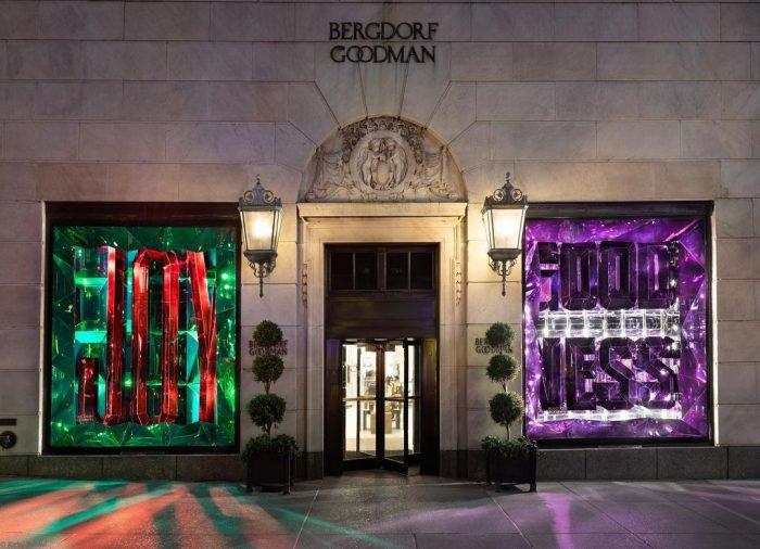 #BergdorfGoodness, holiday windows