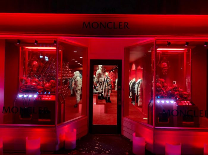 Moncler Opens Temporary Boutique In Greenwich