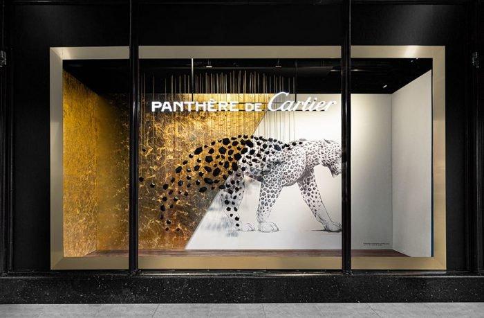 Cartier pop-up at Harrods, London