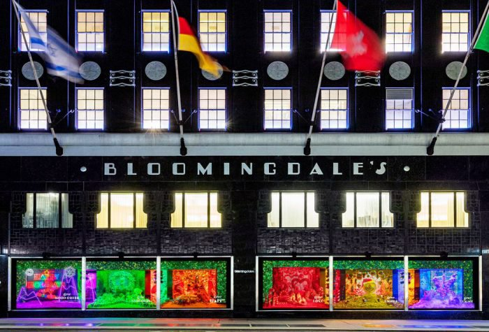 Bloomingdale's 'Give Happy' Holiday Windows