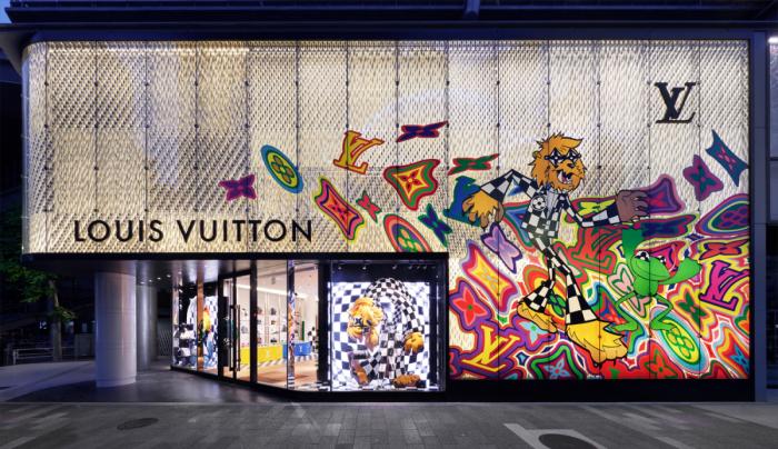 Louis Vuitton Store Tokio