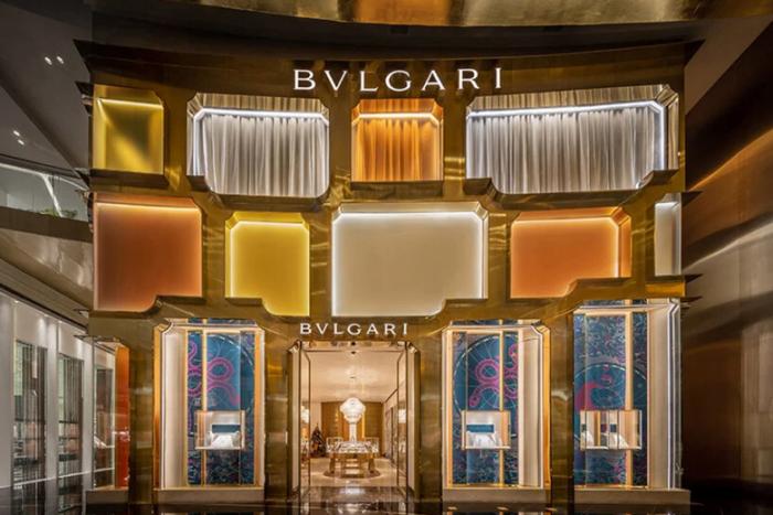 Bangkok's Bvlgari flagship store