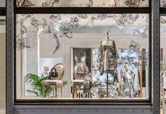 'Dior Chez Moi' pop-up boutique