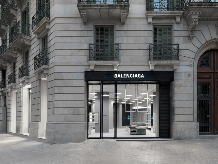 Balenciaga Store Opening in Barcelona