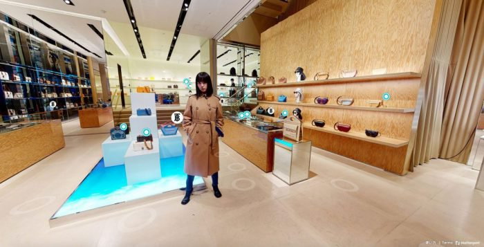 Burberry virtual store