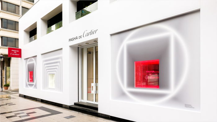 """Pasha de Cartier"" pop-up store"