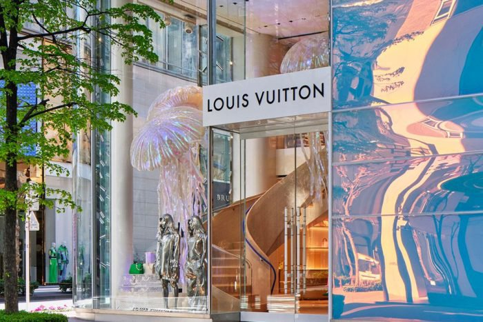 Louis Vuitton flagship Ginza