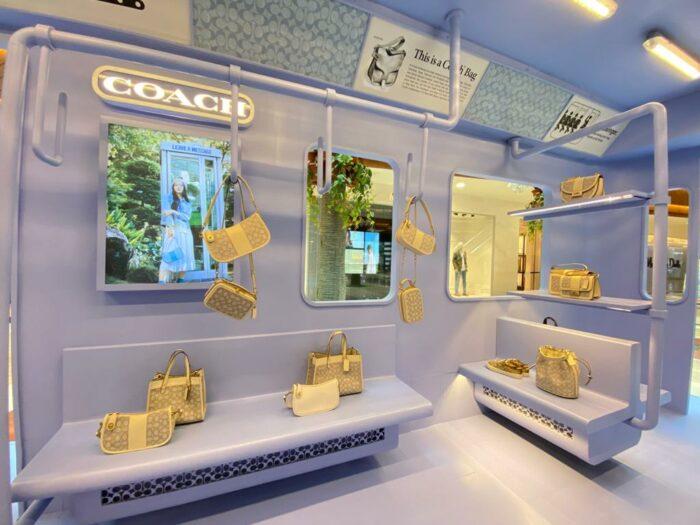 Coach New York City Subway Inspired Pop Up Store