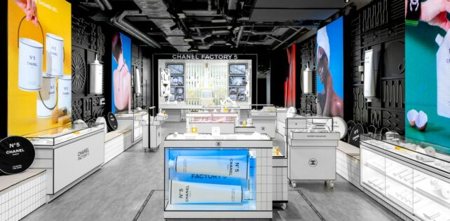Hong Kong's Chanel Factory 5 Beauty Pop-Up