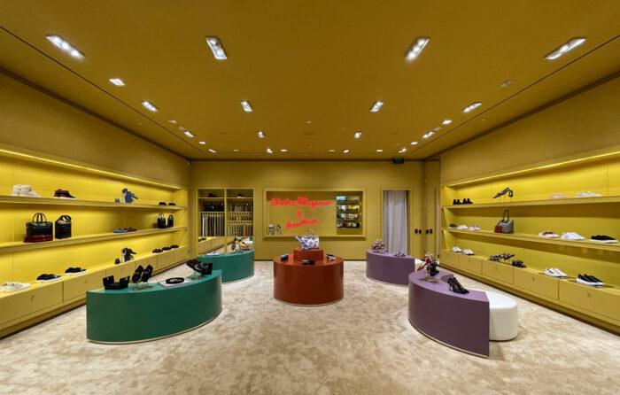 Ferragamo Pop-Up Store Aventura Mall